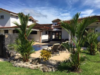 Plenty of Space for you to Enjoy with the Tropical Garden and Pool Deck with  Grill