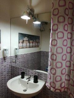 Sala da bagno Glicine .......particolare