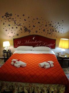 Bedroom 'Il Marchese Edoardo' , molto ampia e luminosa