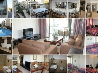 Modern apt, Resort like w/pool, near US Embassy
