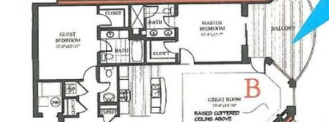 Floor plan of our condo
