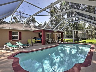Daytona Home w/ Pool Near NASCAR & Turkey Run!