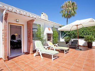 Two bedroom home with private garden close to the beach