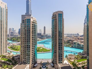 Downtown Dubai Full Fountain View Modern T2 2/Bed 1909