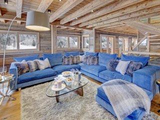 Chalet luxe SNOW CHIC, Sauna, Jacuzzi, Cinéma