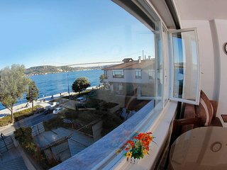 Fantastic bosphorus and bridge view 1+1 apartment 1