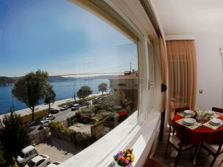 fantastic bosphorus and bridge view 2+1 apartment  2