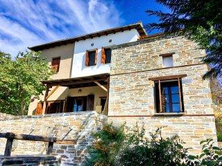 PELION HOMES | Villa Iris A rustic, chic villa in the mountains