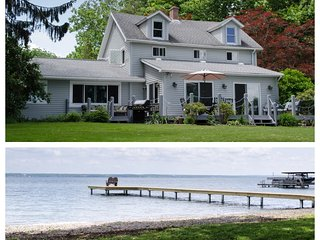 Best Value on Seneca Lake! New Remodel! RARE Level Lakefront on the Wine Trail!
