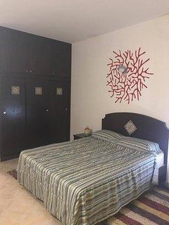 Camera da letto appartamento bilocale