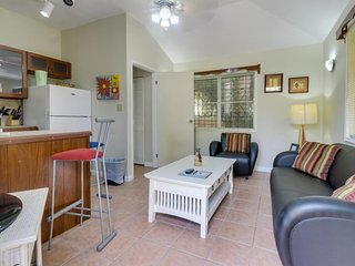 Private waterfront cottage w/ ocean view & shared pool, unbeatable location!