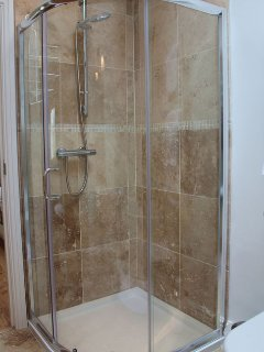 ...and separate shower cubicle