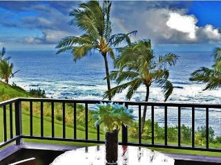Totally Upgraded 2BR Princeville Condo w/Gorgeous Ocean Views, Wifi & Community