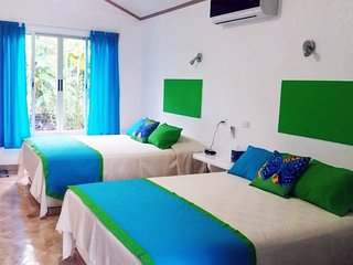 Tropical Paradise: Double Queen Bed Bungalow 1