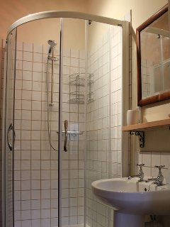 ....and separate shower cubicle