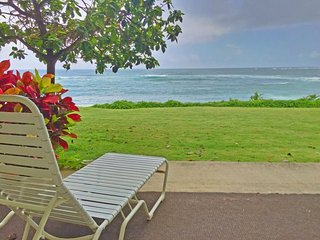 Kapa'a Turtle Beach Walkout Condo w/ Ocean Views!