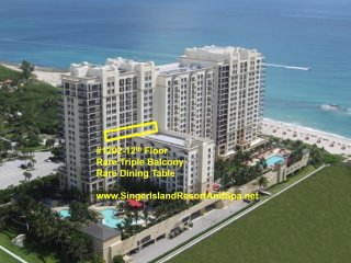 Condo-MarriottSingerIslandResortSpa-19thFl-RareTripleBalcony&DiningTable-WiFI TV