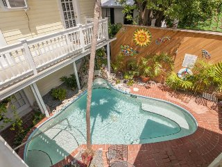 Beautiful suite in a great location w/ shared heated pool & home comforts!