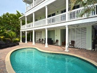 Inviting, waterfront home w/ private pool, Jacuzzi, & balcony w/ ocean views