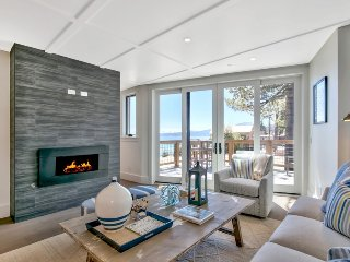 Newly Built Lakefront Retreat with Private Beach!