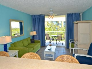 Great for families! Free shuttle service, private patio, shared pool & hot tub!