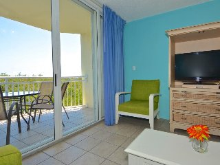 Great for families! Cozy condo with private patio, shared pool & hot tub!