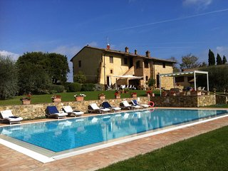Villa Magda is a luxurious villa in San Gimignano, and is perfect for a large gr