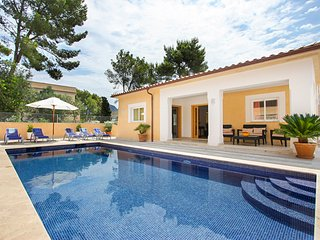 4 bedroom Villa in Cala San Vicente, Balearic Islands, Spain : ref 5428915