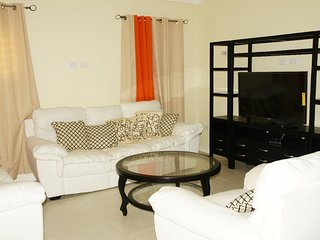 Our Spacious Open-Planned Living Room and Dining Room