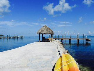 OPEN Endless Bay Views...  Villa on Private Beach and Dock in Islamorada