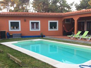 Beach villa with 3 bedrooms and private pool golf Resort -Herdade da Aroeira