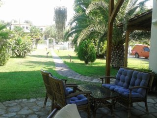 VILLA SERENITY with a huge courtyard and BBQ.