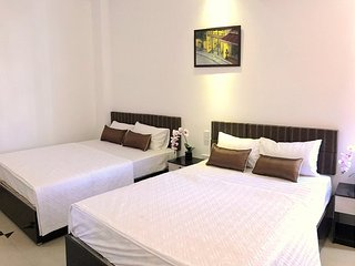 Bedroom 1 Vien Dong Hotel