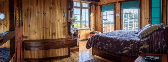 Dormitorio matrimonial en suite, hermosa vista, acceso a terraza