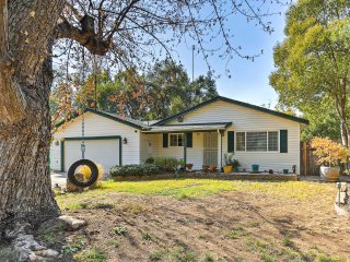 NEW! Hidden Charm 3BR Redding Home w/GameRm & Pool