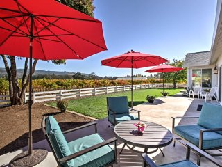 NEW! 4BR Sonoma House w/ Patio & Vineyard Views!