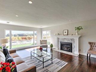 Beautiful Sonoma House w/ Patio & Vineyard Views!