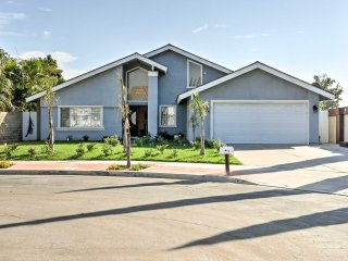 NEW! 4BR Fountain Valley House w/Backyard & Patio!