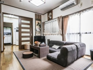 Meiji house,Upscale 4Rm house,8guests 2min hiroo statn,shibuya district.Central.