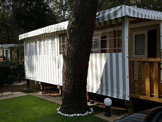Mobil home 40m2 3 chambres tout confort - 300m de la plage