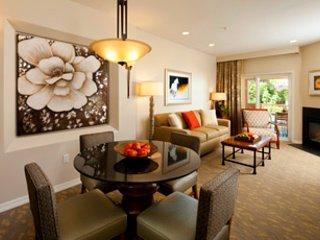 Spacious living area of One Bedroom Premium Villa.