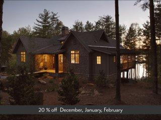 Camp Lake James 'Bluegill' Lakefront Lodge w/ dock