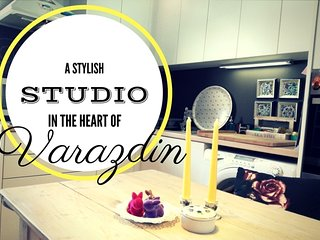 Stylish Studio in the ❤ of Varaždin★Free WiFi★Free Parking