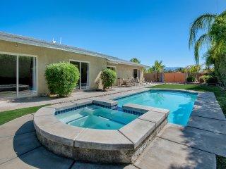 Heated Pool & Spa in walled backyard