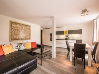A newly renovated one bedroom apartment with separate living and dining area.