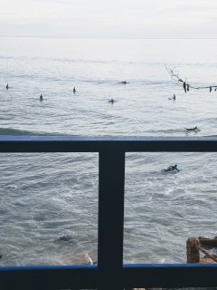 View on 'Hash Point' surfing spot