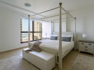 New 1BR in JBR with full sea views!