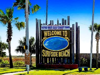 Surfside Beach was voted 'Best Gulf Coast Beach Town' by Gulfscapes Magazine.