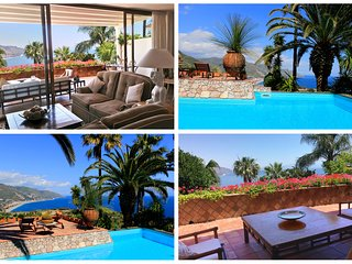PANORAMIC APARTMENT with Pool Sea View Terrace Taormina