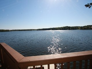 View of Lake Delton from Lower Deck